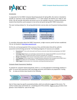 PARCC Computer-Based Assessment Guide