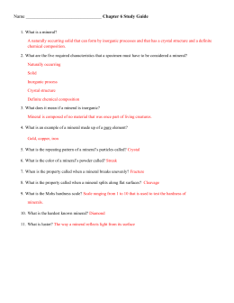 Unit 2: Chapter 6 Study Guide Answers