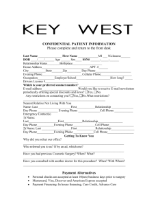 Patient Consent Form - Keywest Institute for Plastic Surgery