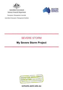 My Severe Storm Project [WORD 512KB]