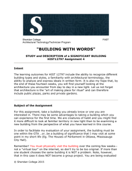 building with words - Trantor