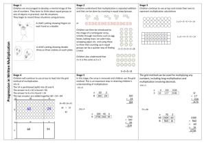 Progression in Written Multiplication 2014 new NC summary111 (1)