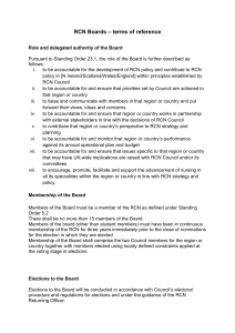 RCN Boards Terms of Reference