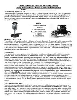 1920s religion essay example
