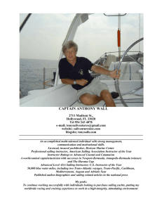 My Resume - Biscayne Bay Sailing Academy