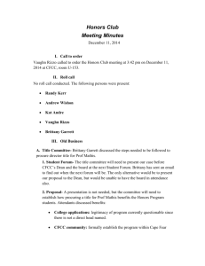 Formal meeting minutes 12-11