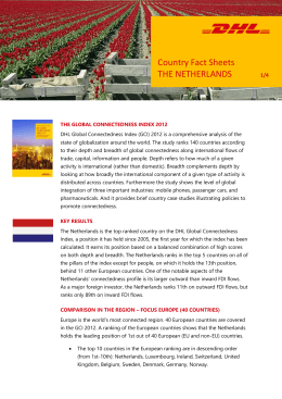 Country Fact Sheets THE NETHERLANDS /2 THE GLOBAL