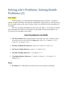 Solving life`s problems_the problem of health.2
