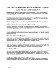 red river college-animal health technology program rabies pre