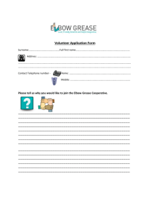 Jane I think you need to look at this as purely an application form, as