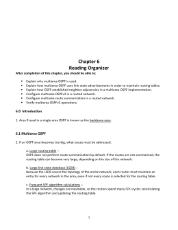 Chapter 6 - Reading Organizer
