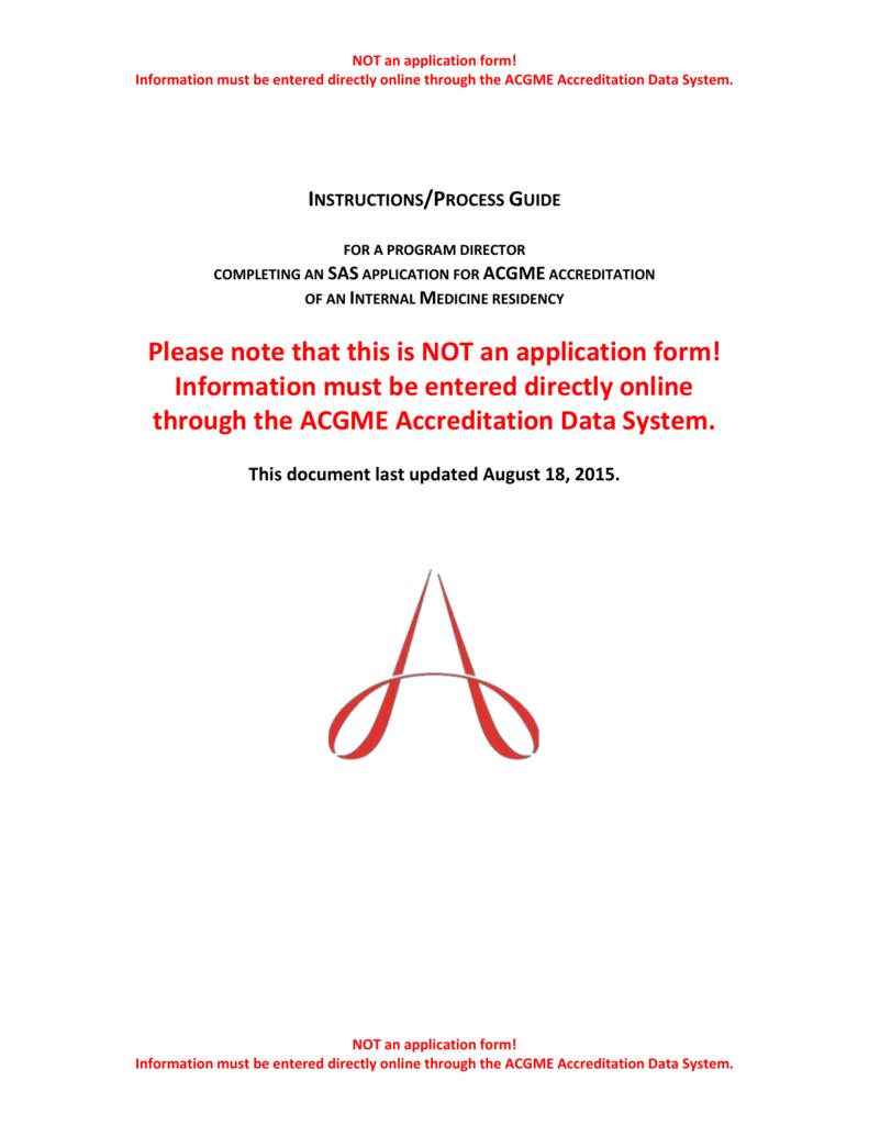 IM SAS App Instructions