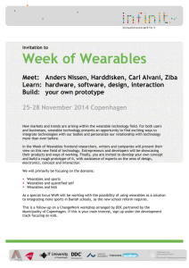 Week of Wearables