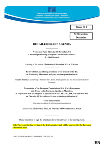 detailed draft agenda - 512th plenary session on 9-10