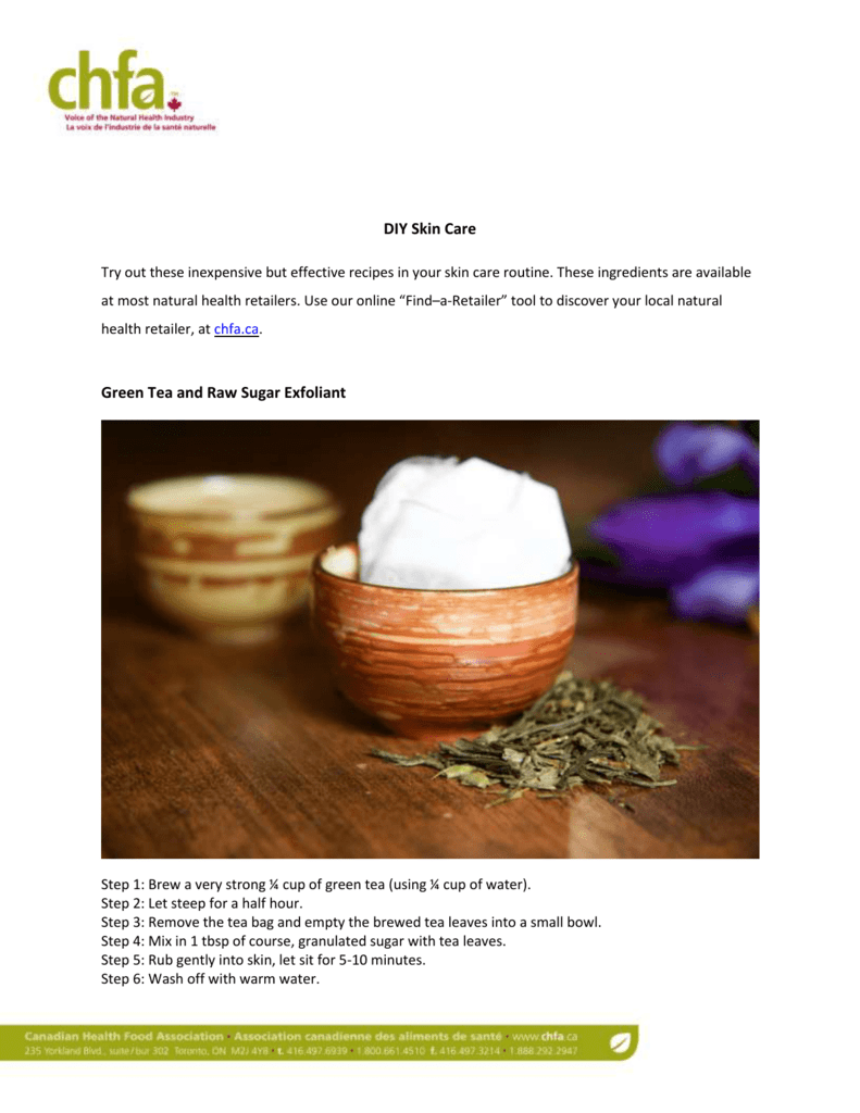 For more holistic skin care tips and all natural DIY recipes visit