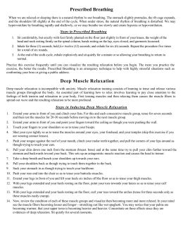 Stress Mgmt Handout - Dr. Andy Case