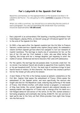 Civil War in Pan`s L summary texts