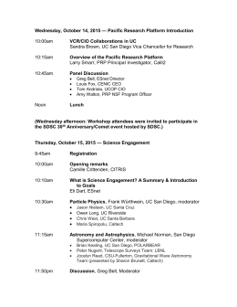 Final Agenda - Pacific Research Platform