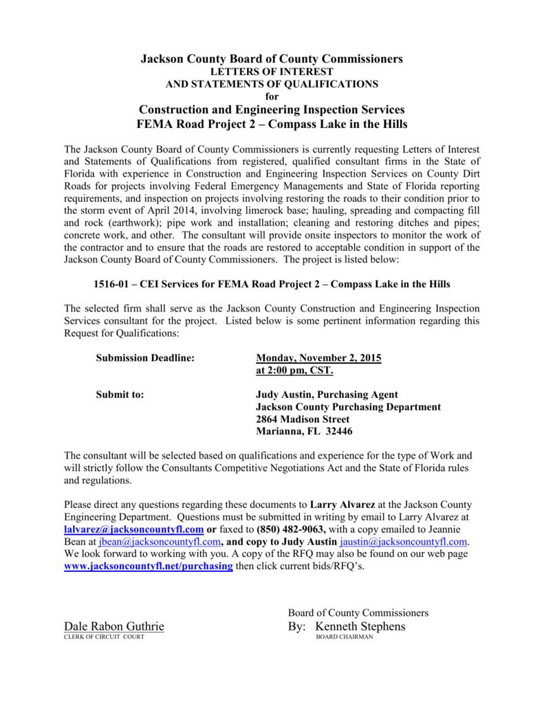 1516-01-RFQ-CEI-FEMA-RoadProject2-CLITH