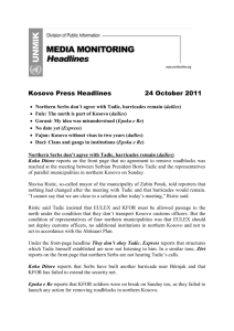 Headlines 24 October