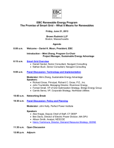 Final Agenda - Environmental Business Council of New England, Inc.