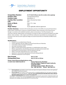 EMPLOYMENT OPPORTUNITY Competition Number: AS LTC 614