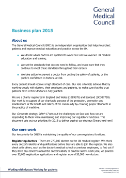 Business plan 2015 – accessible Word version