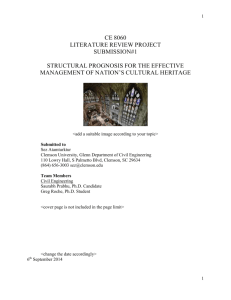 Literature Review Report Template