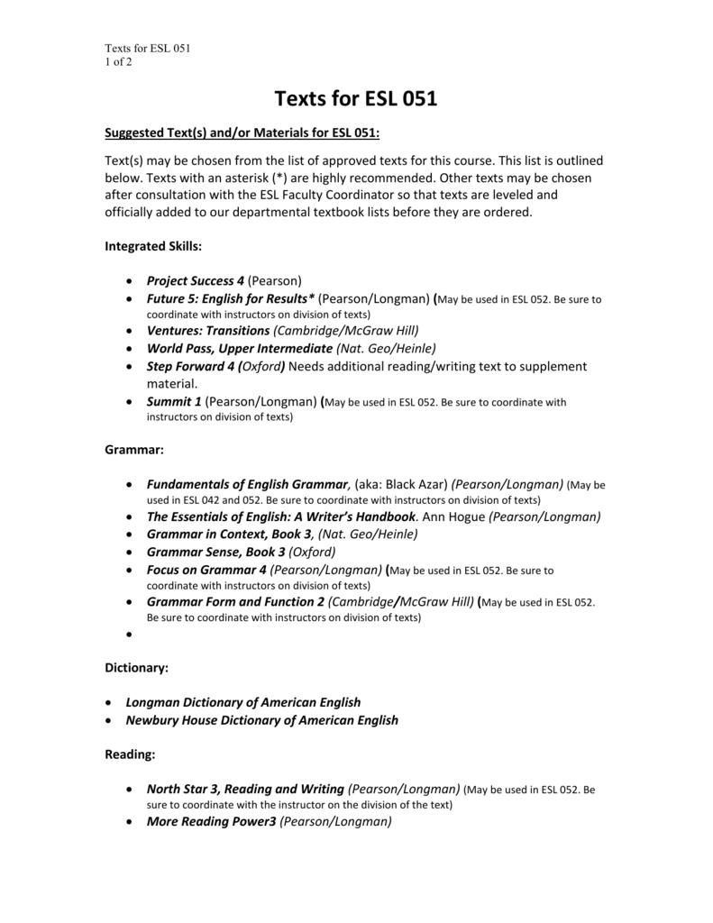 Longman Summit 1 Teacher Book