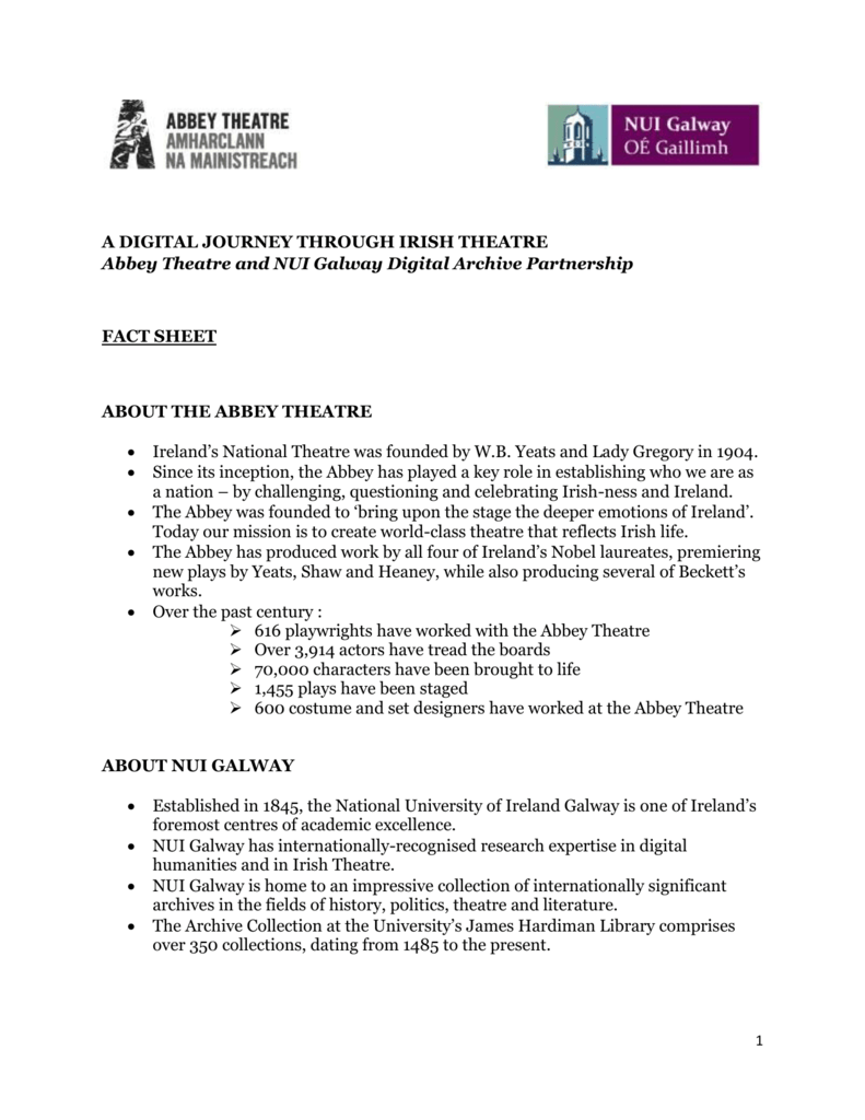 Current/Ongoing Research - NUI Galway