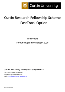 FastTrack option – Instructions