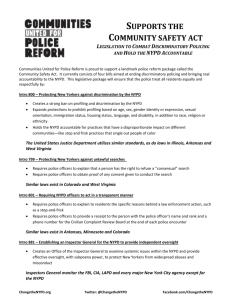 The Community Safety Act