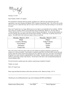 Snowshoeing Permission slip