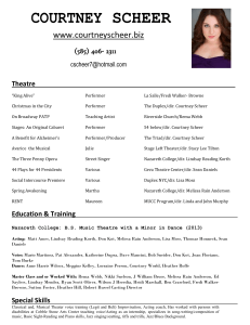 check out b23d5 95be8 Courtney_Scheer_s_Theater_Resume____ · Courtney_Scheer_s_Theater_Resume____