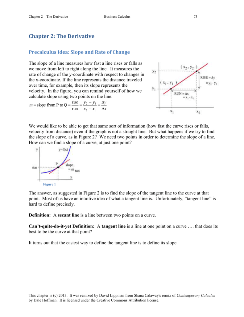 Buscalc_chp2_wexerci How To Create A Tangent Line With Excel Determine  The Equation Of A Line When Given Two Points