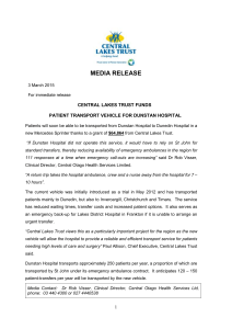 Media Release - Grants Approved March 2015