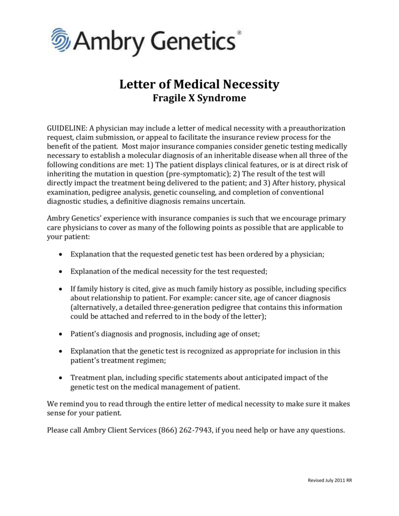 Letter of medical necessity fragile x syndrome 0066654131 1b2d56b2a16866a01d8d8a9a32c6ddc8g expocarfo