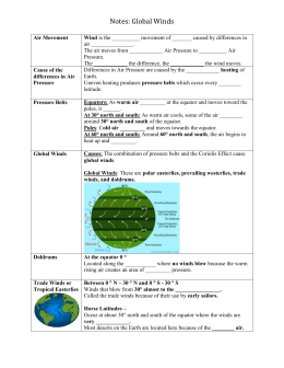 earth science report activities of local and global winds Afterschool activity bus asb program fund report bus schedules calendars   course  prentice hall earth science (the books are in the classroom on the  bookself)  part 3: global wind currents  part 6: local effects    umnedu/worldgeography/chapter/1-2-the-environment-and-human-activity/.
