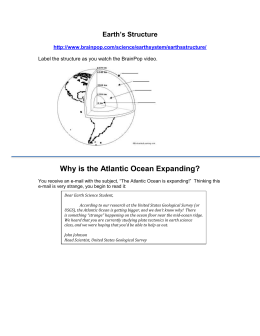 Why is the Atlantic Ocean Expanding?