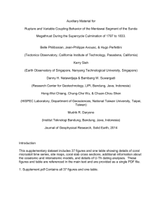 Rupture and variable coupling behavior of the Mentawai segment of