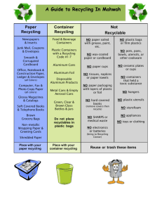 Microsoft Word - A Guide to Recycling in Rockland