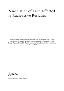 IAEA Report DOC - GNSSN Home - International Atomic Energy