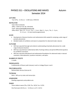 Syllabus - University of Montana
