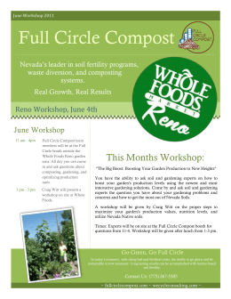 wholefoods workshop