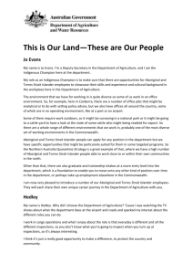 This is Our Land*These are Our People