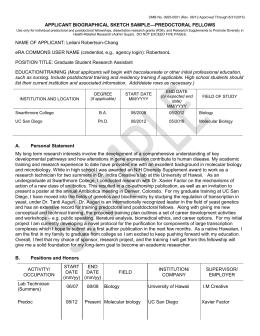 NIH biosketch change as    Kick Me    sign    Terra Sigillata MSK Library   Memorial Sloan Kettering Cancer Center custom writing at    personal statement for nih biosketch  Custom Writing  At    Personal Statement For Nih Biosketch