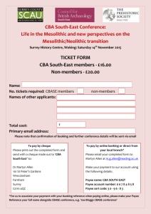 CBASE conference 2015 ticket form