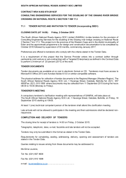 N002-070-2016-2F Tender Advert