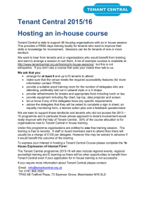 in house course information