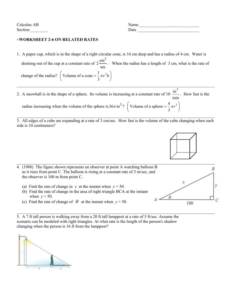 Worksheet 2-6
